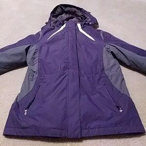 Below Zero purple 3-in-1 jacket/coat
